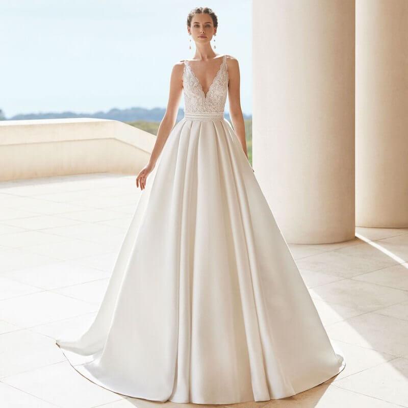 платье на свадьбу 2021